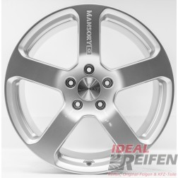 23 Zoll VW Touareg 7P 7L V10 W12 Mansory Alufelgen 11x23 ET50 Silber NEU
