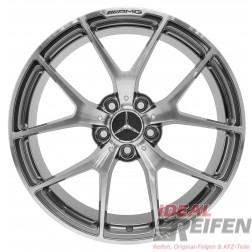 "Original Mercedes Benz W204 C63 AMG 507 19"" Zoll Felgen A2044012500 A2044012600"