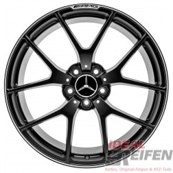 Original Mercedes Benz W204 C63 AMG 507 19 Zoll Alufelgen 8x19 ET45 9x19 ET54 SM