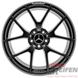 Original Mercedes Benz C-Klasse C63 AMG 507 Edition 8x19 ET45 9x19 ET54 OE black