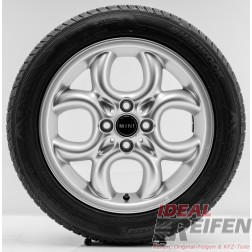 "4 Original MINI Roadster R59 2011-2014 16 Zoll Winterräder 6791942 Circular Spoke 16"" NEU"