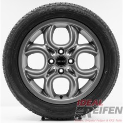 "4 Original MINI Clubman R55 LCI 2009-2014 16 Zoll Winterräder 6791942 Circular Spoke 16"" NEU TM"