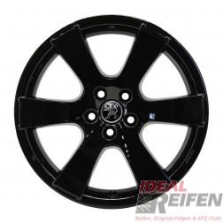 4 Peugeot 4007 19 Zoll Alufelgen 8x19 ET38 MME 31522 Felgen in schwarz glänzend