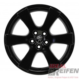 4 Peugeot 4007 19 Zoll Alufelgen 8x19 ET38 MME 31522 Felgen in schwarz s.matt