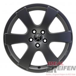 4 Peugeot 4007 19 Zoll Alufelgen 8x19 ET38 MME 31522 Felgen in grau matt