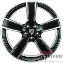 Original Porsche Cayenne 9Y 22 Zoll Felgen 9Y0601025AP 10x22 ET48 9Y0601025AQ 11,5x22 SM-POL