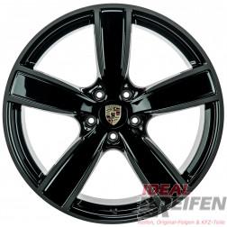 Original Porsche Cayenne 9Y 22 Zoll Felgen 9Y0601025AP 10x22 ET48 9Y0601025AQ 11,5x22 SG-SM