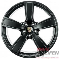4 Original Porsche Cayenne 9Y Sport Classic II 22 Zoll Alufelgen Satz Schwarz matt