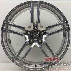 1 Original Audi R8 V8 Alufelge Hinterachse 420601025E 10,5x19 ET55 Felge EF2761