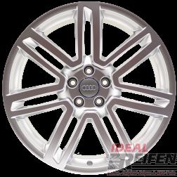 4 Original Audi RS7 4G8 20 Zoll Alufelgen 8Jx20 ET35 4G0601025AP Silber glänzend