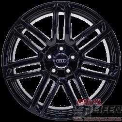 Original Audi RS7 4G8 20 Zoll Alufelgen 8Jx20 ET35 4G0601025AP Schwarz glänzend