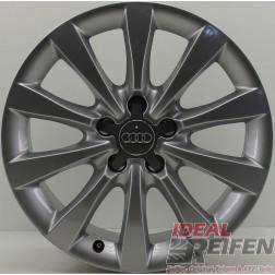 1 Original Audi A6 4G C7 17 Zoll 4G0601025B Alufelge Felge 8x17 ET39 EF134