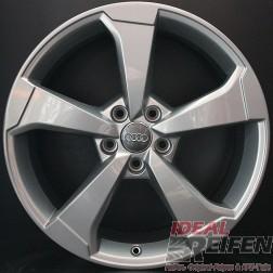 Original Audi A3 S3 8V 19 Zoll Rotor Felgen 8V0601025CE 8V0601025CF / CG SILBER